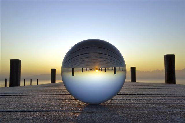 Kugelbild acryl und glas von kugelspirale und for Glasbilder modern art